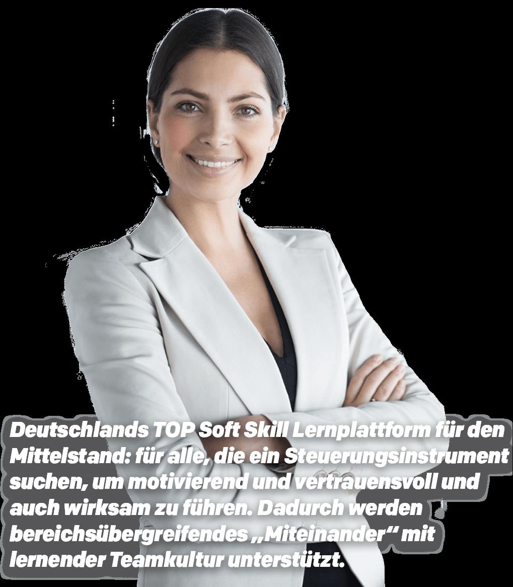 Deutschlands TOP Soft Skill Lernplattform für den Mittelstand
